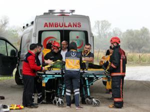 Düzce'de otomobil köprüden uçtu: 2 ölü, 2 yaralı