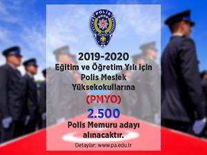 EGM duyurdu: 2 bin 500 polis memuru adayı alınacak