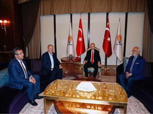 Erdoğan-İnce görüşmesindeki koltuk detayı