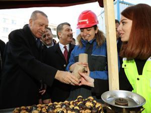 Erdoğan Taksim Camisi inşaatını inceledi!