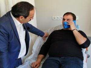 Erzincan'da gazeteciye çirkin saldırı