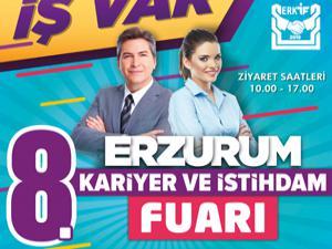 Erzurum 8. Kariyer ve İstihdam fuarı 5-6 Aralık'ta açılıyor
