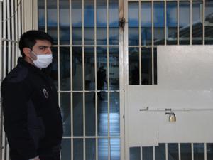 Erzurum cezaevinde koronavirüs önlemi
