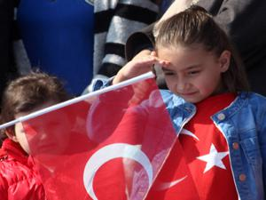 Erzurum'da 12 Mart coşkusu