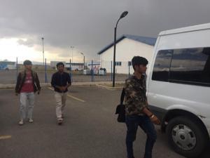 Erzurum'da 15 Afgan göçmen yakalandı