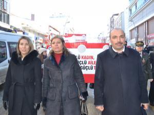 Erzurum'da 8 Mart etkinlikleri düzenlendi