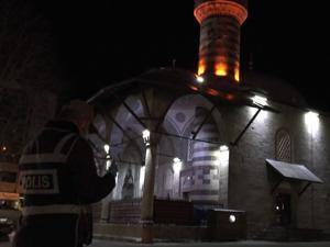 Erzurum'da camilerden dualar yükseliyor