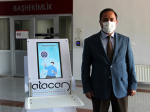 Erzurum'da covid hastalarının robot hemşire konforu
