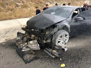 Erzurum'da faciadan dönüldü: 3 yaralı