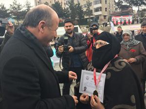 Erzurum'da Kadınlar Günü bir dizi etkinlikle kutlandı