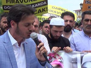 Erzurum'da Mursi için gıyabi cenaze namazı kılındı