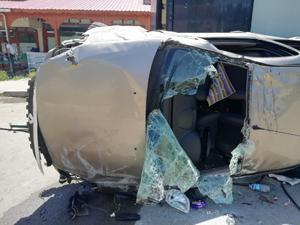 Erzurum'da otomobil takla attı: 1 ölü, 4 yaralı