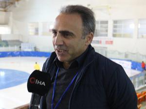 Erzurum'da Short Track Federasyon Kupası heyecanı