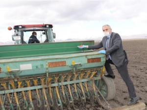 Erzurum'da tarıma bahar bereketi