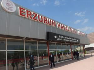 Erzurum Havalimanı 7 ayda 614 bin 436 yolcuyu ağırladı
