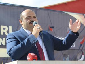 Erzurum Hayvan Borsasının temeli atıldı