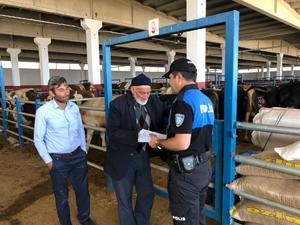 Erzurum hayvan pazarında sahte para uyarısı