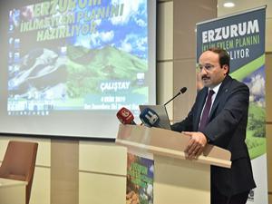 Erzurum İklim Eylem Planı'nı hazırlıyor