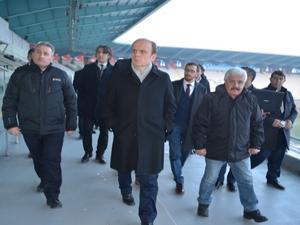 Erzurum IOC heyetini ağırlıyor