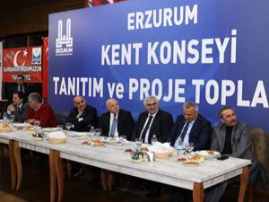 Erzurum Kent Konseyi'nden tanıtım ve proje toplantısı