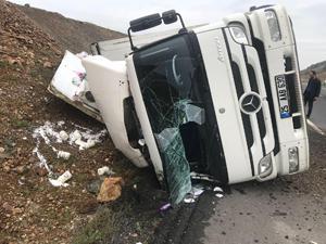 Erzurum-Köprüköy yolunda trafik kazası: 1 yaralı