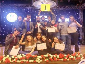 Erzurum tiyatroda bölge şampiyonu