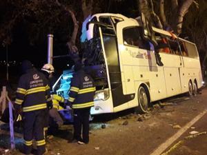 Eskişehir'de otobüs kazası: Çok sayıda ölü ve yaralı var