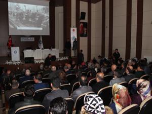 ETܒde 'Uluslararası Erzurum' sempozyumu gerçekleştirildi