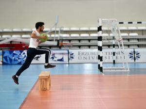 ETÜ Spor Bilimleri Fakültesi özel yetenek sınavı yapıldı