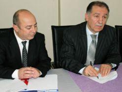 Tetik ve Fırat protokol imzaladı
