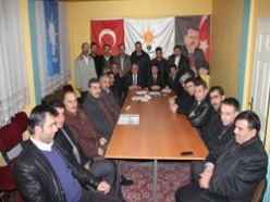AK Parti ilçe yönetimi toplandı