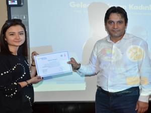 Geleceği Yazan Kadınlar Projesi'nin Erzurum finali yapıldı