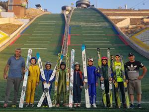 Gürcü sporcuların kamp için tercihi Atlama Kuleleri oldu