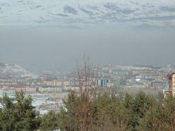 Erzurum`da kirli hava paniği