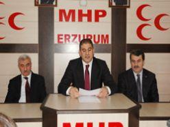 MHP'den Erzurum değerlendirmesi