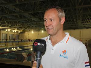 Hollanda Yüzme Milli Takımı, Erzurum kampını tamamladı