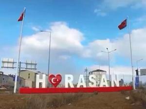 Horasan'da 2 mahalle 2 apartman karantinaya alındı