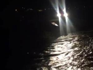 Horasan'da iki çoban Aras Nehri'ne düştü