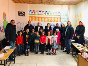 İbrahim Hakkı İlkokulu öğrencilerinden anlamlı etkinlik