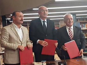 İBTAV ile Atatürk Üniversitesi işbirliği protokolü imzaladı