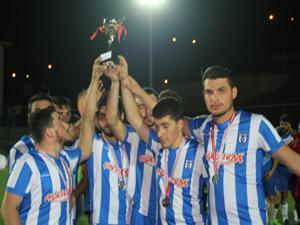 İlçede Süper Lig'i aratmayan futbol turnuvası