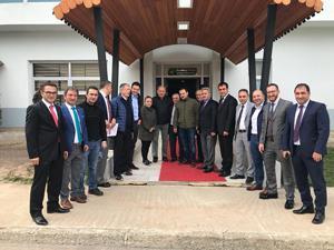IOC heyeti Erzurum'dan mutlu ayrıldı