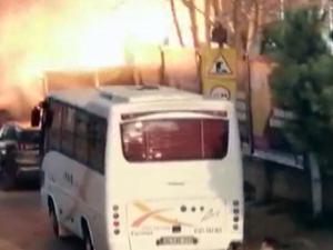 Kadıköy'de korkutan patlama! O anlar kamerada