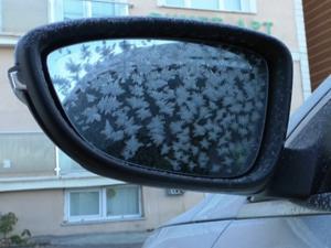 Kars donuyor! Araçlar buz tuttu