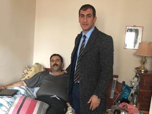 Kaymakam Aksu'dan engellilere ziyaret