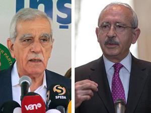 Kemal Kılıçdaroğlu ve Ahmet Türk görüştü