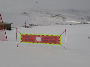 Konaklı hayalet kayak merkezi oldu