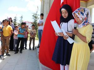 Kur'an bülbülleri 15 Temmuz Şehitleri için okudu