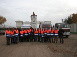 Büyükşehir`den Van`a 20 temizlik işcisi