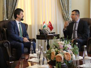 Macaristan Büyükelçisi Matis, Vali Memiş'i ziyaret etti